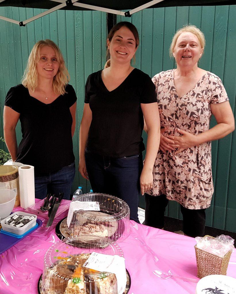 BBQ - cake stall