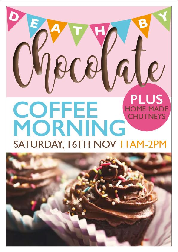 Coffee Morning Special - Saturday November 16th