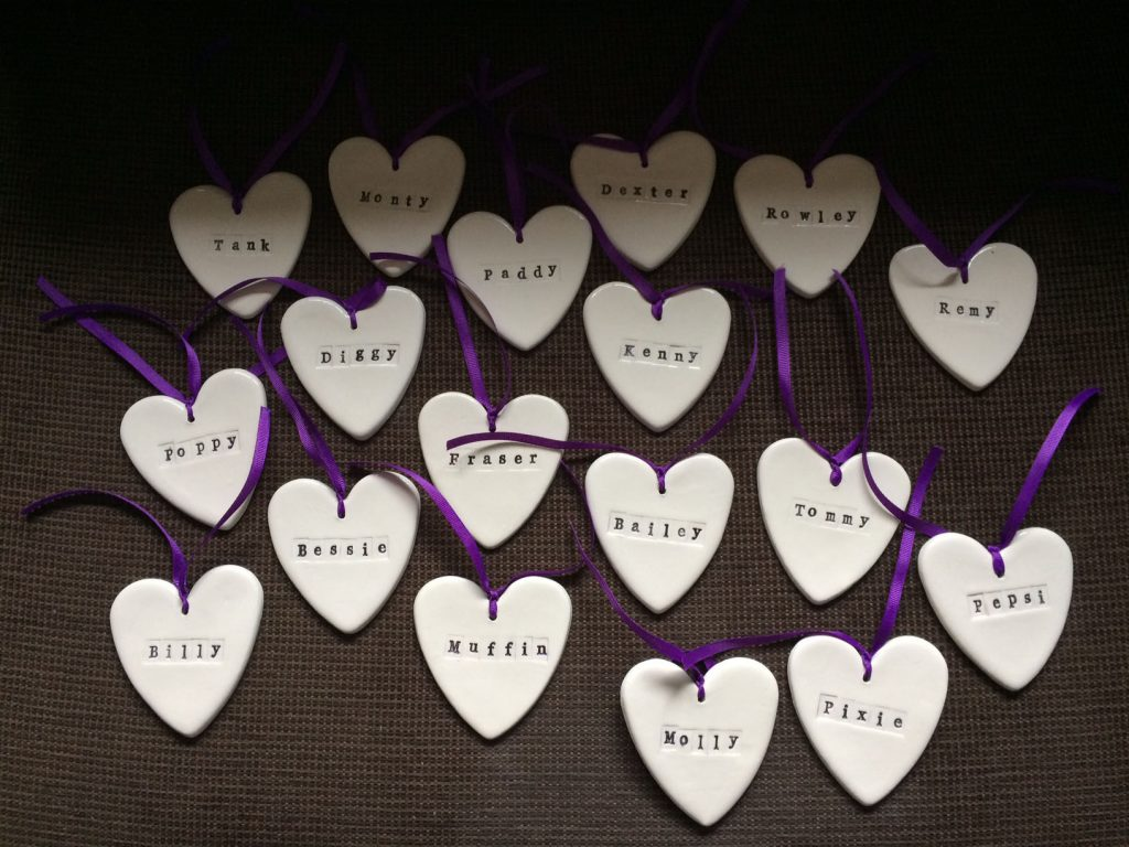 Remembrance Tree - Hearts