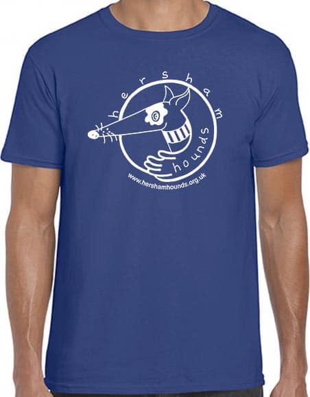 Shop - t-shirt blue